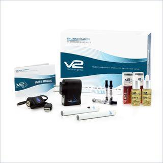 V2's Standard E-Liquid Kit